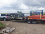 a load of crates, tender foot and cast iron head back to Wellston, OK