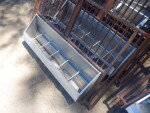 pic 1 of 3 of the front fences and feeders to make 4 foot or 8 foot wide pens by 9 foot 6 inch deep - $50 each