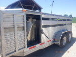 Trailer full of nursery and grower headed back to Shiocton, Wisc.