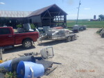 2 stainless crates to dike Iowa