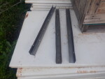 """pic 4 of 6 - Channels available for the back wall - 26 pieces - 1 1/2"""" thick by 30 """" tall by 9 foot 6 inches long - $30 each ."""