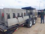 Sow bunks and heat mats to Owatana, MN