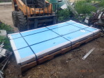 10 sheets of dura plate to Aurora WV