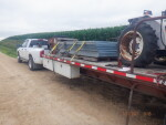 Dura plate headed to Duncan Oklahoma