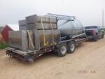 Load of Equipment headed to Leroy Michigan