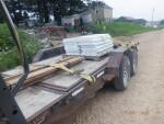 Cast iron and plastic with fiberglass rails headed to Dike Iowa for farrowing