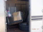 pic 2 of 2 stacking 8 crates , floors, heat mats & Feeders in a horse trailer from Duchesne Utah