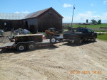 Trailer hear to Oblong, IL and Springfield IL