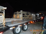 Trailer headed out to Thorp, Mosinee,, and Depere Wisc.