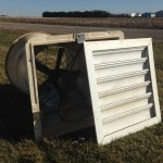 """18"""" Aerotech wall fans that were in my nursery.  They have all had new motors between when they were new in 1994"""