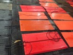 .   I have 9 left  heat pads and 16 black mats.   $60 for the heated pads and $15 for the rubber mats