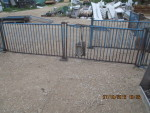 these gates are solid rod and heavy duty