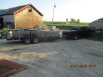 Truck load of feeders and waters headed to Buffalo center Missouri