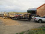 trailer headed to Farmland In and then south to Mays Lick Ky