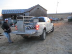 12 22 2019 - A last minute farrowing crate to solon Iowa