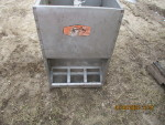 "pic 4 of 4 - 3 smidley double sided feeders @ $65 each 18"" wide by 20"" deep by 28"" tal"