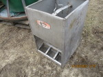 "pic 2 of 4 - 3 smidley double sided feeders @ $65 each 18"" wide by 20"" deep by 28"" tal"