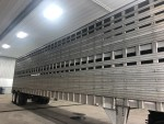 92 Eby 48ft straight deck livestock trailer $5,500