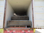 40 foot container sent to Jamaica