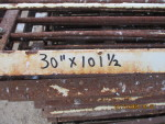 "Pic 1 of 6 -- 30 gates - 30"" by 101 1/2""  long  @ $25 each"