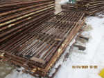"Pic 6 of 6 -- 30 gates - 30"" by 101 1/2""  long  @ $25 each"
