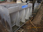 "pic 5 of 5 - 28 feeders - $180 each - 56 "" 4 hole feeders by 35 "" tall"