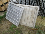 shutters for 1 left   prudent fans 110 volt with hoods - $125  picture 3