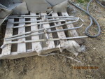 farrowing crate stainless pipe with sow and piglet combination at $12 each - some have nipples
