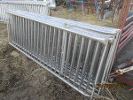 "6  - 100"" long' Thorp stainless gates  vertical rod finishing gates - 34"" tall @ $135 each"