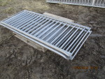 "4  - 81"" long' Thorp stainless gates  vertical rod finishing gates - 34"" tall @ $105 each"