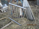 "1  - 37"" long' Thorp stainless gates  vertical rod finishing gates - 34"" tall @ $45 each"