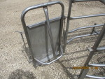 PIC 4 OF 10 - We have 200 of these crates available. Rear door butt guard  These bow bar crates are all stainless $270 each add $60 for new PVC -  I have some used PVC dividers to help save  on costs