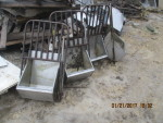 4 sow feeders with head gate - $30 each