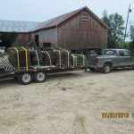 350 gstalls and 32 crates headed to Northeast Iowa