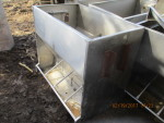 "2left  - 4 hole Thorp double sided feeders 40"" W by 36T by 24"" W  -$140 each"