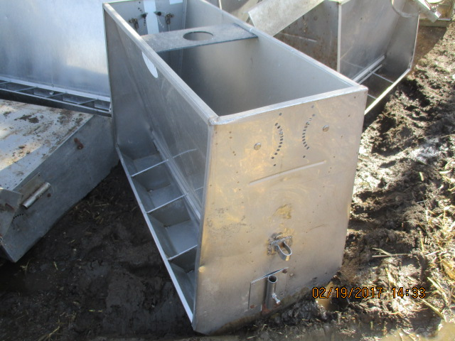 """1 - 50"""" by 4 hole double sided feeders by 36"""" tall - $150 each"""