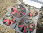 "5 - Multi fan - 4E50 20"" rough - $40 each  pic 3"