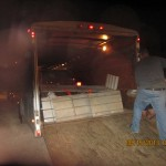 4.30 in the morning and we are loading Ontario Oregon and Gold Bar WA