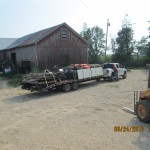 Trailer headed to Duncan