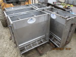"pic 1- 2 -  hog  feeders - 30"" long by 31 1/2"" tall by 17 1/2"" wide @ $80 each"