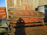 Al sold 27 Floors  heavy wire centers and rubber coated sides - $100 each