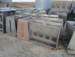 """9 of  - 40"""" double sided feeders at $125 each"""
