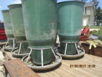 "Only 3 left Osborne feeders - 5foot tall by 36"" bases  Stainless steel Rings $100 each"