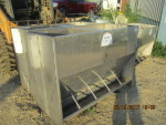 "3 - 50"" double sided 5 hole Thorp feeders 50"" by 23 1/2"" wide by 36"" tall @ $150 each"