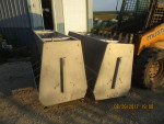 "2 left  -60 "" EIP double sided stainless feeders - $150 each . 25"" wide by 31"" tall - pic 2"
