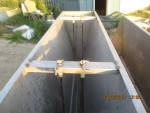"2 left -60 "" EIP double sided stainless feeders - $150 each - pic 1"