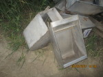 """picture 1 - 6 sow feeders 12"""" wide by 12"""" deep by 25"""" tall  -  $30 each"""