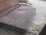 01 26 18 pic 5 - 6 left   - 5 by 10 coated self support flooring - $110 each