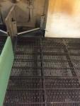 Fully cast iron floor