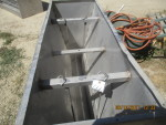 "pic 3 -- 2 - 56"" long double sided Stainless steel Vittetoe feeders - $175 each"